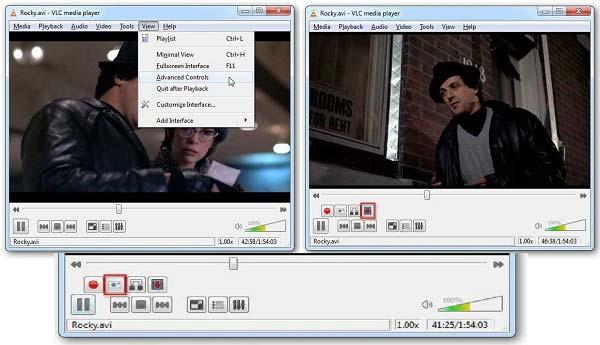 VLC-edistynyt ohjaus