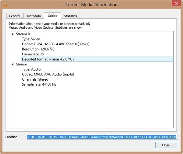 VLC-median infm