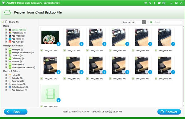 Recover Photos from iCloud