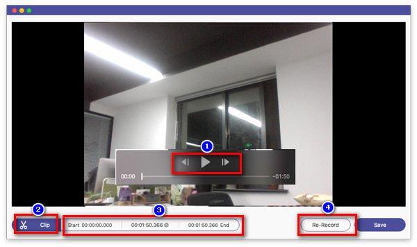 Esikatsele verkkokameran videota