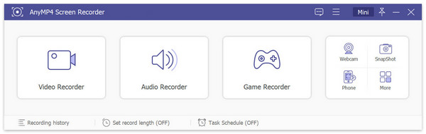 Valitse Game Recorder
