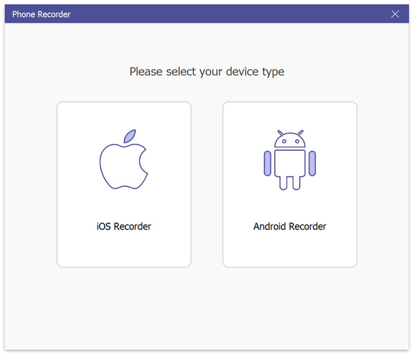 Napsauta iOS Recorder