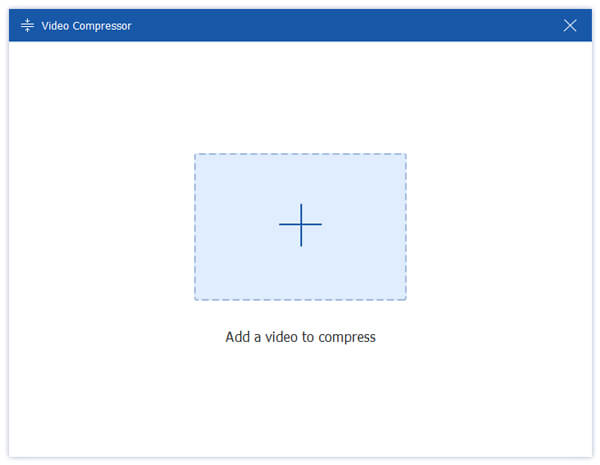Add video to compress