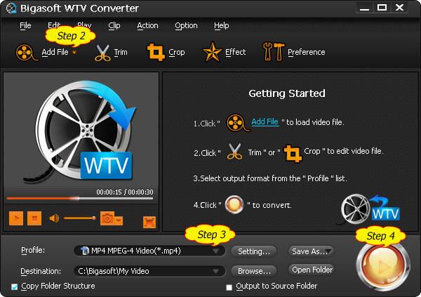 Bigasoft WTV -muunnin