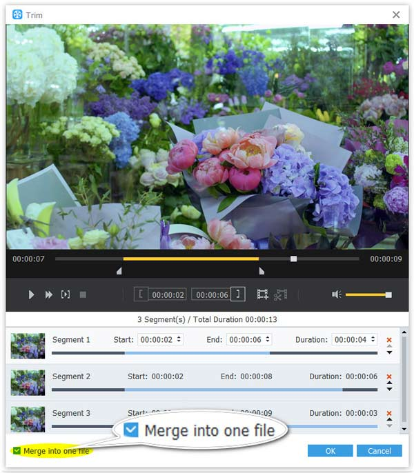 Yhdistä video