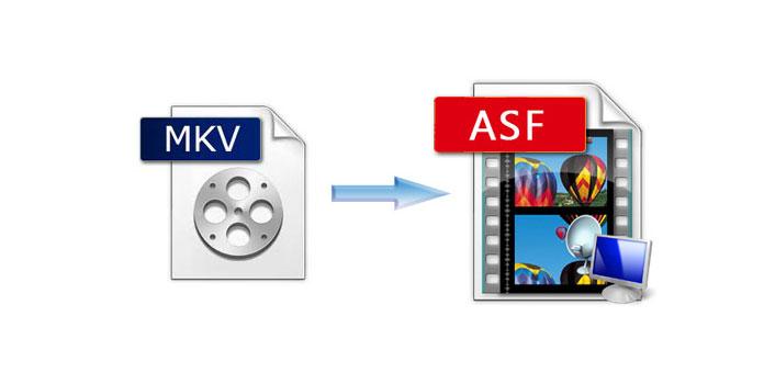 MKV ASF: ään