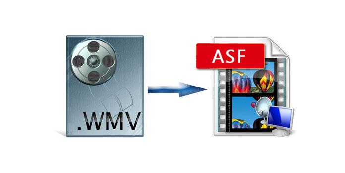 WMV ASF: ään