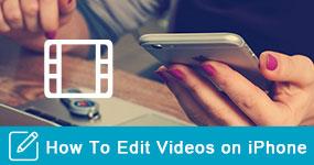 Kuinka muokata videoita iPhonessa