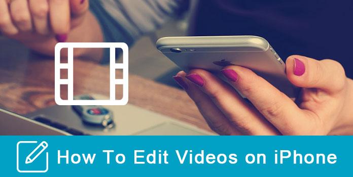 Muokkaa videoita iPhonessa
