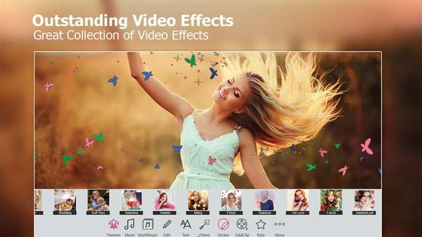 Outstanding video effects