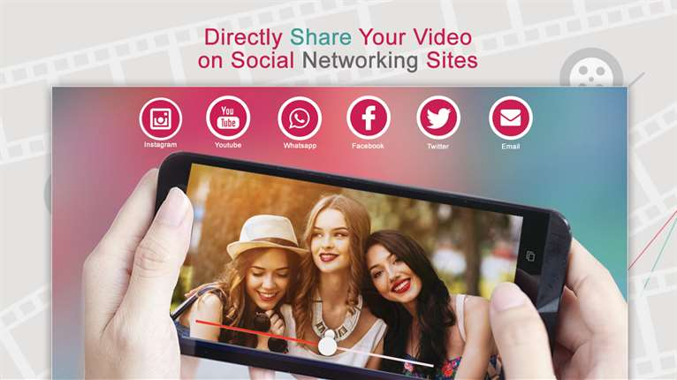 Share video on social sites