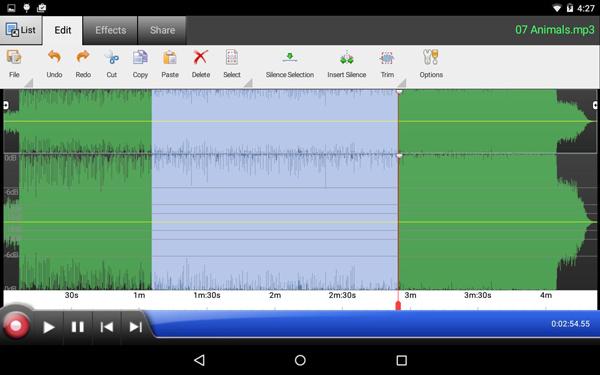 WavePad Audio Editor ilmaiseksi
