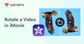 Kierrä videota iMovie-ohjelmassa