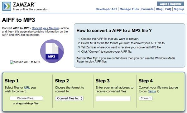How to Convert AIFF to MP3 with Top 7 Methods
