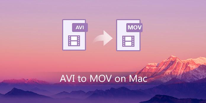 AVI - MOV Mac-käyttöjärjestelmässä