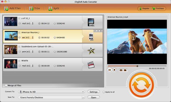 iOrgsoft Audio Converter