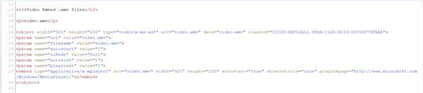 Kopioi ja liitä koodi