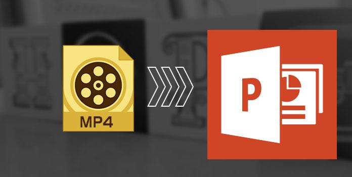 Upota MP4 PowerPointiin