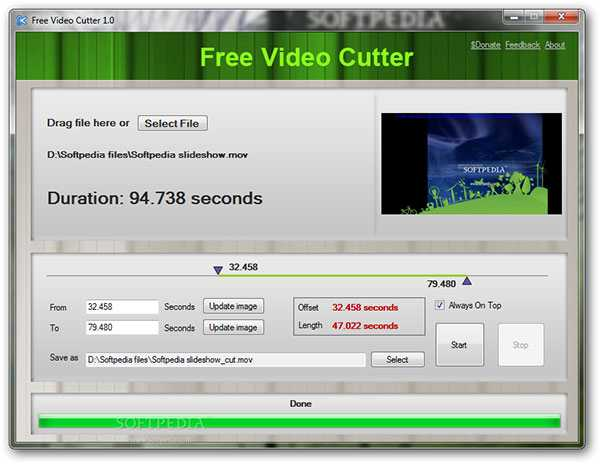 Vapaa Video Cutter