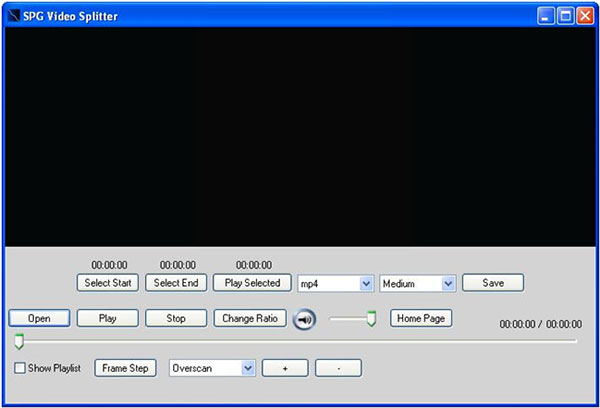 SPGSoft Video Splitter