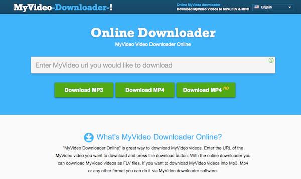 MyVideo Downloader