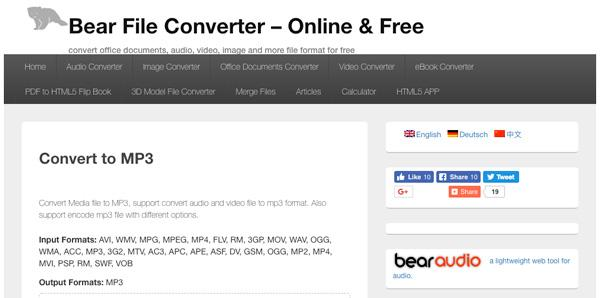 video to audio converter online mp3