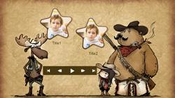 Cowboy-pikkukuva