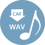 CAF to WAV