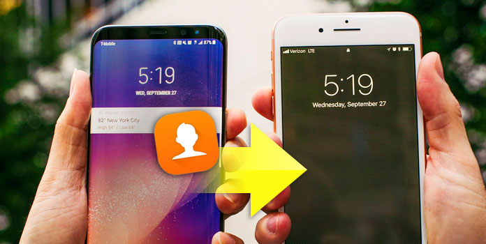 Transfer Contacts From Android Phone to iPhone
